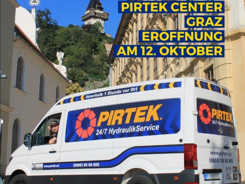 Pirtek bald in Graz