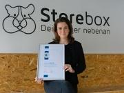 Storebox: 1 Vollmitglied und 100 Franchise-Lizenzen