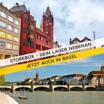 Storebox jetzt auch in Basel